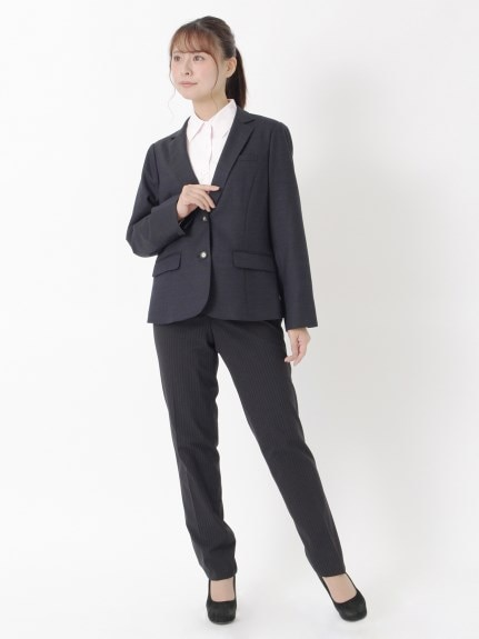 スーツ+ベスト+ブラウス