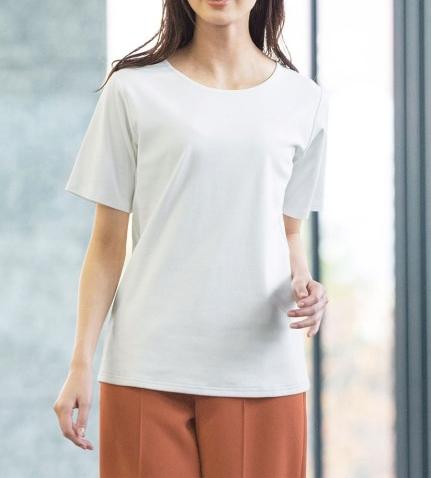 フロント2重仕立てのインナーTシャツ