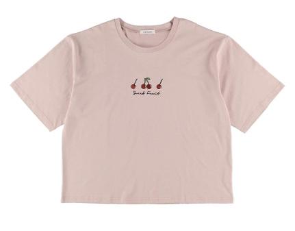 フルーツ刺繍Tシャツ