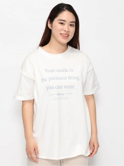 天竺ロゴTシャツ