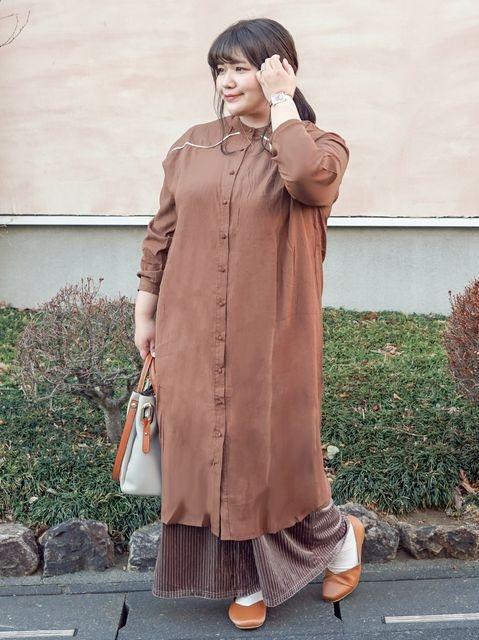 妊娠後期~授乳期におすすめの秋冬ファッション