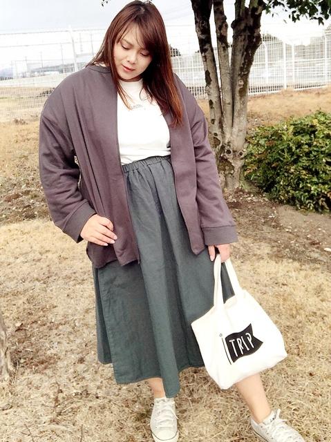 妊娠初期〜中期におすすめの秋冬ファッション