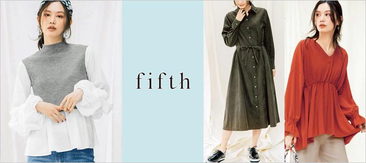 fifth【フィフス】のトレンドフェミニンコーデ