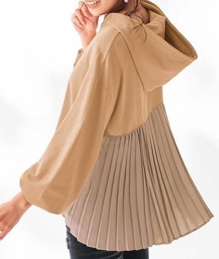 素材や色で着痩せ度をアップ