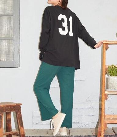 アソートバックプリントロングTシャツ