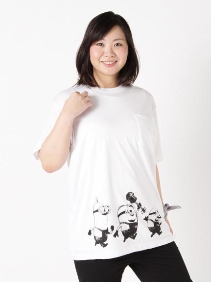 ミニオンズプリントTシャツ