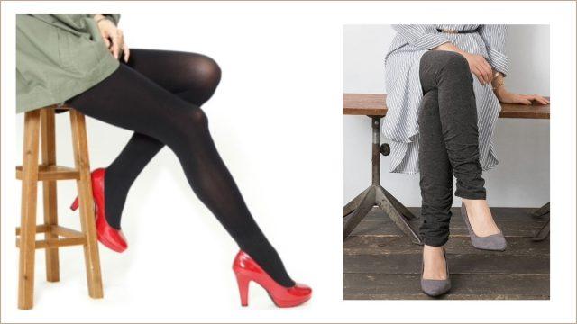 ぽっちゃり女子の足元をかわいく演出!ゆったりサイズのタイツ、ストッキング、レギンス12選