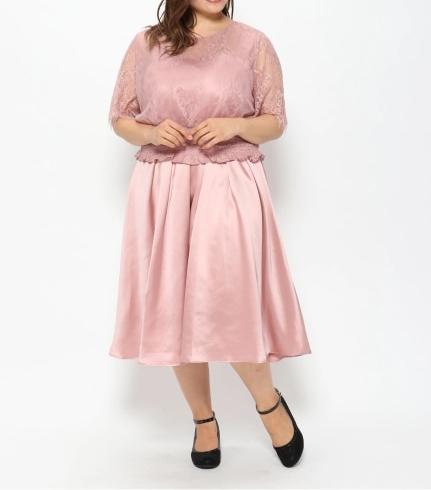 レースブラウス セットドレス